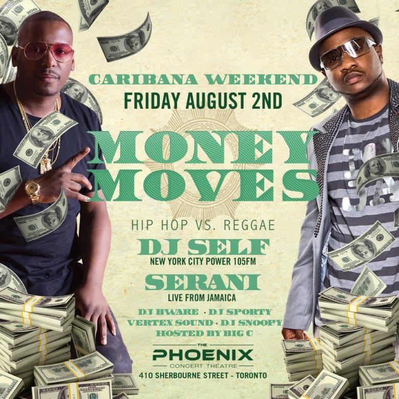 MONEY MOVES CARIBANA FRIDAY   The Phoenix Concert Theatre